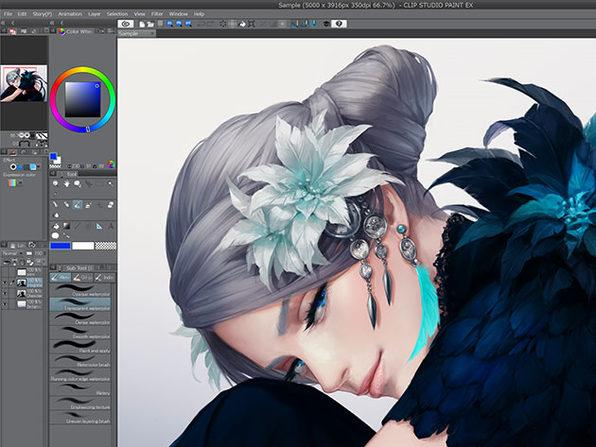 Clip Studio Paint EX 1.9.7 Crack Full Pro Serial Number Keygen
