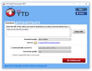 YTD Video Downloader Pro 5.9.18.2 Crack Full Serial Keygen